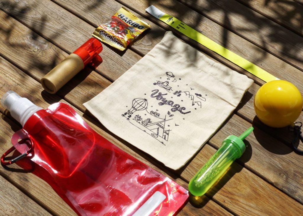 Contenu pack enfant - objets Kid'Trotters