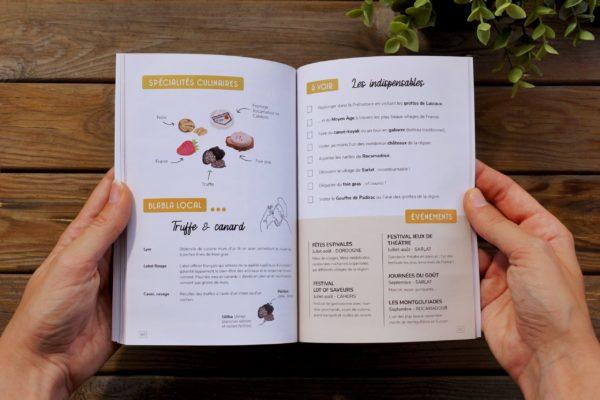 Guide Sud-Ouest - Exemple page intérieure 4 - Fiche produit