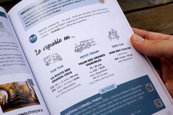 Guide Sud-Ouest - Exemple page intérieure 7 - Fiche produit
