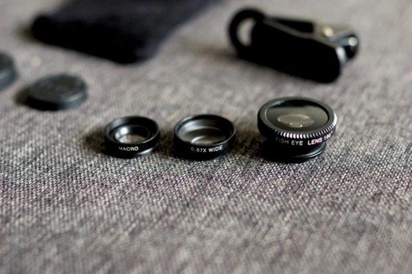 Options - Set objectifs smartphone - fiches produits
