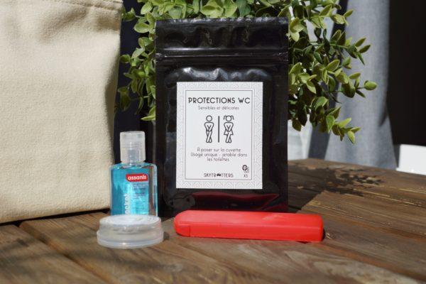 Pack de voyage Skytrotters - kit hygiène